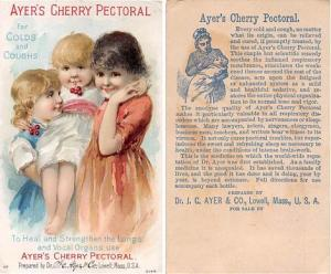 approx size inches = 3 x 5 Trade Card, Tradecard