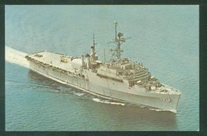 USS NASHVILLE LPD-13 Amphibious Transport Dock US NAVY Military Ship Postcard