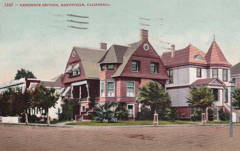 MARYSVILLE, California, PU-1943; Residence Section