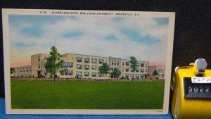 STD Vintage Alumni Building Bob Jones University Greenville South Carolina