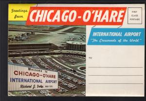 Chicago O'Hare International Airport Souvenir Folder