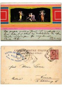 CPA AK POMPEI Casa dei Vetti Psiche ITALY (533969)