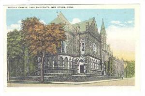 Battell Chapel, Yale University, New Haven, Connecticut, 1910-1920s