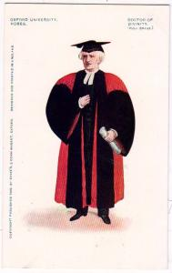 Oxford University Robes, Doctor of Divinity