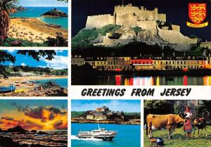 England C.I. Greetings from Jersey multiviews