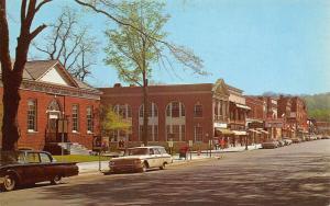 Gowanda New York~West Main Street~Hollywood Theatre~1950s Cars~Station Wagon~'62