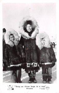Snug as three bugs in a rug - Misc, Alaska AK