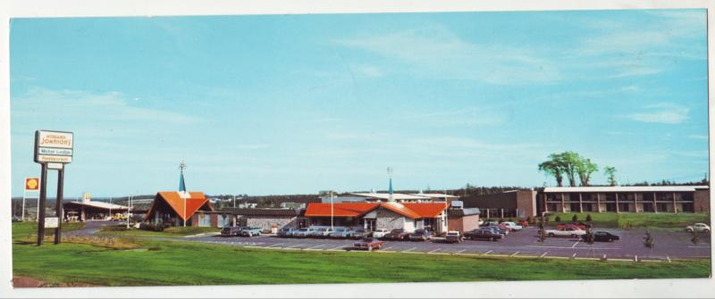P601 JLs vintage howard johnson,s route 2 at magnetic hill new brunswick canada