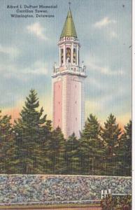 Delaware Wilmington Alfred I DuPont Memorial Carrillon Tower
