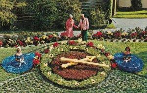 CYPRESS GARDENS , Florida, 50-60s ; Floral Clock