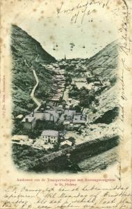 St. Helena, Arrival of Transport Ships with Boer War Prisoner (1901) Postcard