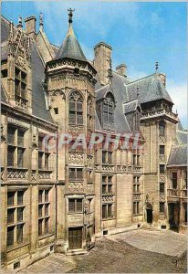 Postcard Modern Gerry Bourges (Cher) Court Palace Jacques Hearts