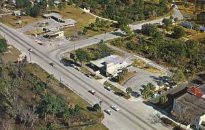 Aerial View, Classic Cars, HONOSASSA SPRINGS, Florida, 40-60's