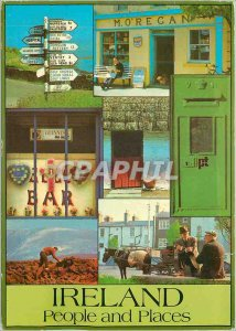 Postcard Modern Ireland people and places