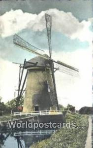 Holland Netherlands, Nederland Dutch Windmill  Dutch Windmill