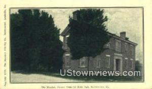 The Mansion Pioneer Memorial State Park Harrodsburg KY Unused
