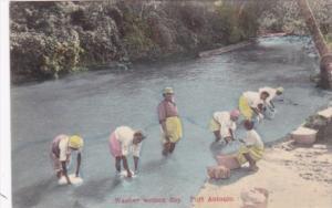 Jamaica Port Antonio Washer Women Wash Day