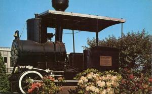 First Locomotive in Northwest - Oregon Pony - On Display Union Station Portland