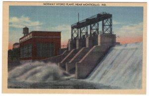 Norway Hydro Plant, Near Monticello, Ind.