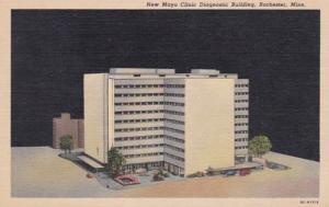 Minnesota Rochester New Mayo Clinic Diagnostic Building Curteich