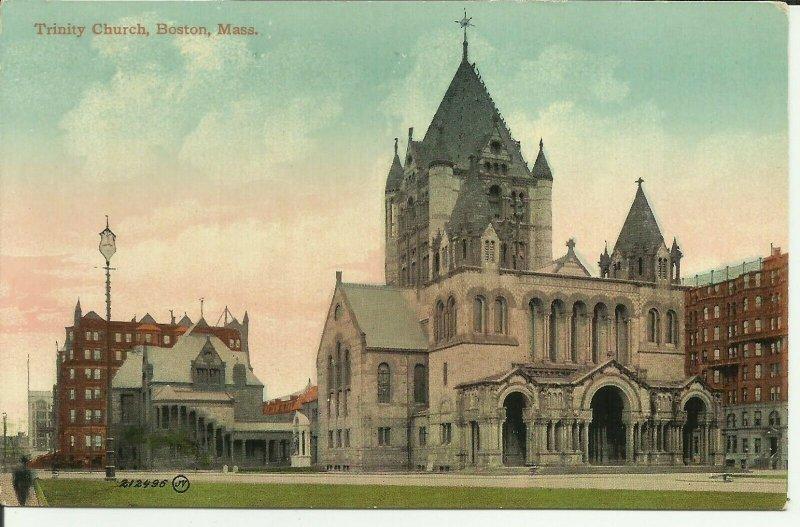 Boston, Mass., Trinity Church