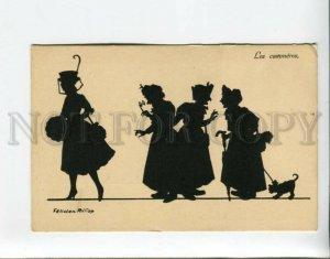 3161152 SILHOUETTE gossips Women BELLE by FELICIEN PHILIPP old