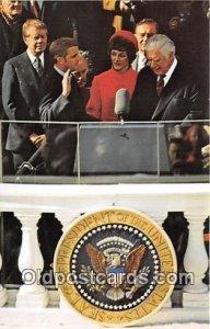 Walter Mondale, Vice President Carter Inauguration, Jan 20, 1977 Unused