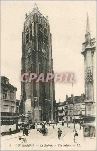 Old Postcard Dunkerque The Belfry