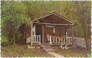 Robert W. Service's Cabin, Dawson City, Yukon, Canada, Chrome