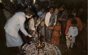 Rosalynn Carter in India, 1978