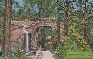 Tennessee Chattanooga Lookout Mountain Entrance To Rock City