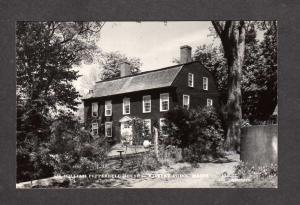ME William Pepperell House Kittery Point Maine Real Photo RPPC Postcard RP