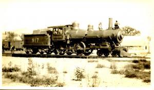 Boston & Maine RR #917 *RPPC (Photo, not a postcard) (3.25 X 5.5)