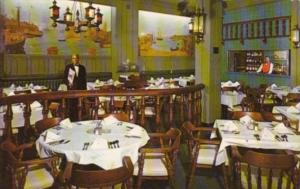 Washington D C O'Donnell's Seafood Restaurant Dining Room 1971