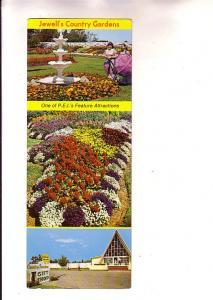 Jewell's Country Gardens, York , Prince Edward Island,  Advertising Card