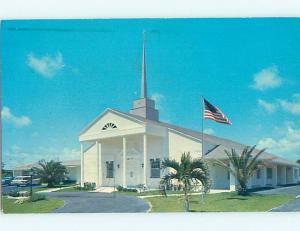 Pre-1980 CHURCH Pompano Beach - Near Hillsboro Inlet & Fort Lauderdale FL A8929