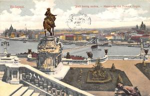 Budapest Republic of Hungary Jeno herceg szobra, Monument des Prinzen Eugen B...