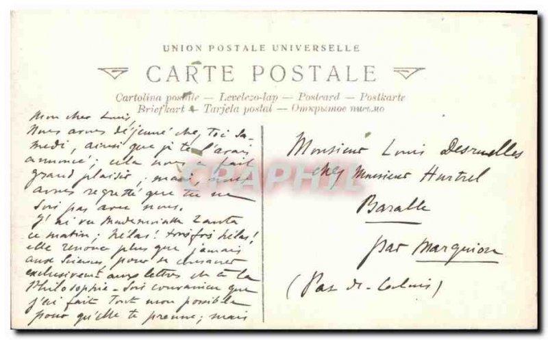 Old Postcard Fantaisie The dairy Greuze Museum of Louvre Paris