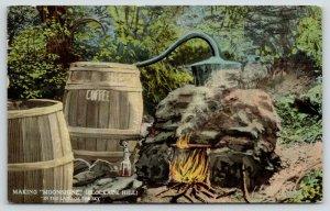 North Carolina~Moonshine Barrel Masqueraded Coffee~State Prohibition~c1910~SHARP