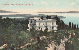 CORFU , Greece , 1900-10s ; Villa Imperiale Achilleion