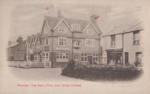 Shenley Hertfordshire Village Royal Mail Post Office Rare Antique Postcard