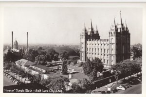RP: SALT LAKE CITY , Utah , 30-40s ; Mormon Temple Block