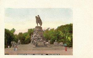 PA - Philadelphia. Fairmount Park, Washington Monument