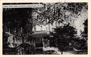 Blairstown New Jersey~Blair Academy~Insley Hall~Won a Scholarship Here I Am~1944