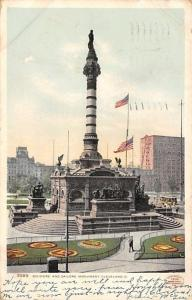 Cleveland OH Detroit Publishing #5589 Soldiers & Sailors Monument~1906 Postcard