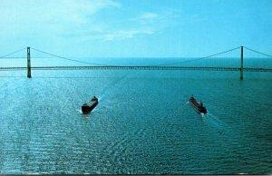 Michigan The Mackinac Bridge