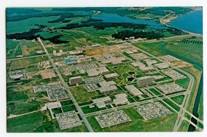 Postcard Manned Spacecraft Center Houston Texas Standard Aerial View Card