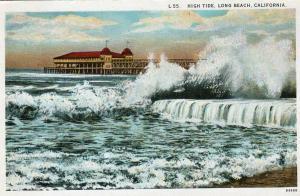 USA High Tide Long Beach California 01.56