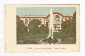 Place Charles-Felix Et Gare Centrale, Turin (Piedmont), Italy, 1900-1910s