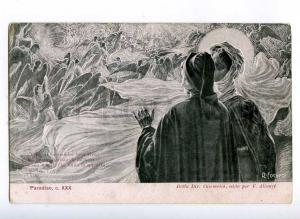 189775 DANTE Paradise ANGELS by FOCARDI Art Nouveau ALTEROCCA